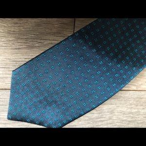 Express Reversible Mens Tie - Green